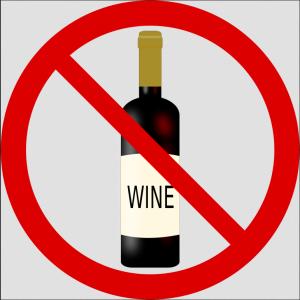 No Wine Allowed